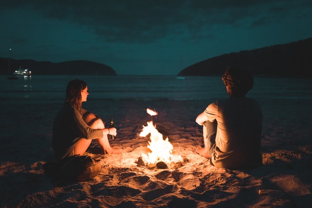 bonfire on a beach tips to keep your relationship strong