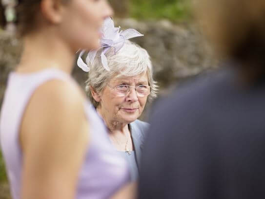 elderly wedding guest top tips on how to downsize your guest list