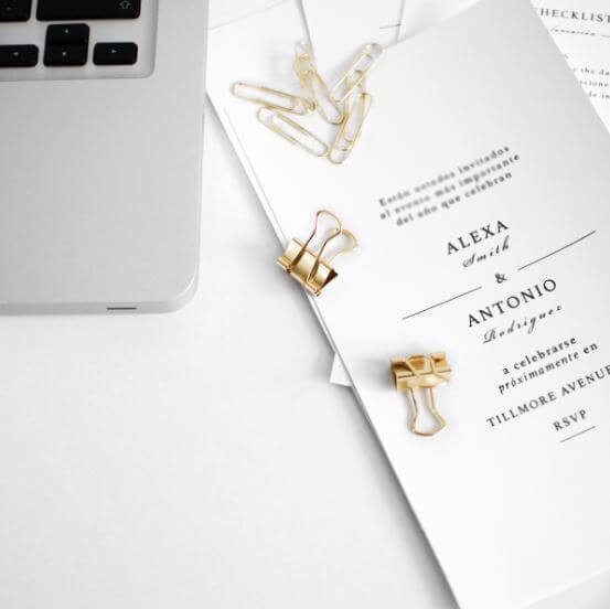 wedding invitation top tips on downsizing your guest list
