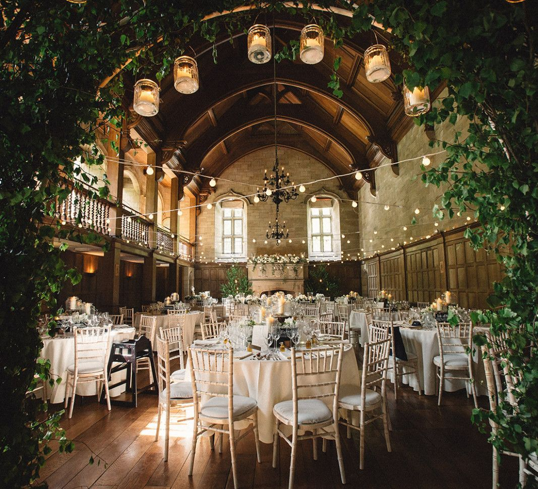 how to choose a wedding venue room set in an old church set up for a wedding with the celebrant angel