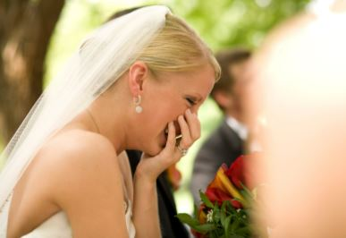 how do i stop blushing on my wedding day with the celebrant angel aberdeen