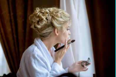 how do i stop blushing on my wedding day with the celebrant angel