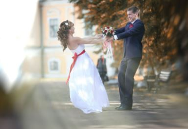 how do i stop myself blushing on my wedding day with the celebrant angel