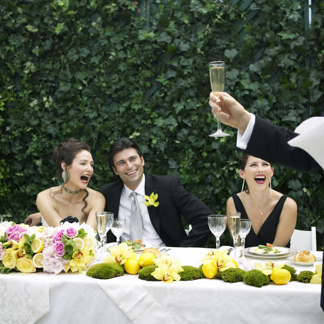 should a bride make a wedding speech with the celebrant angel